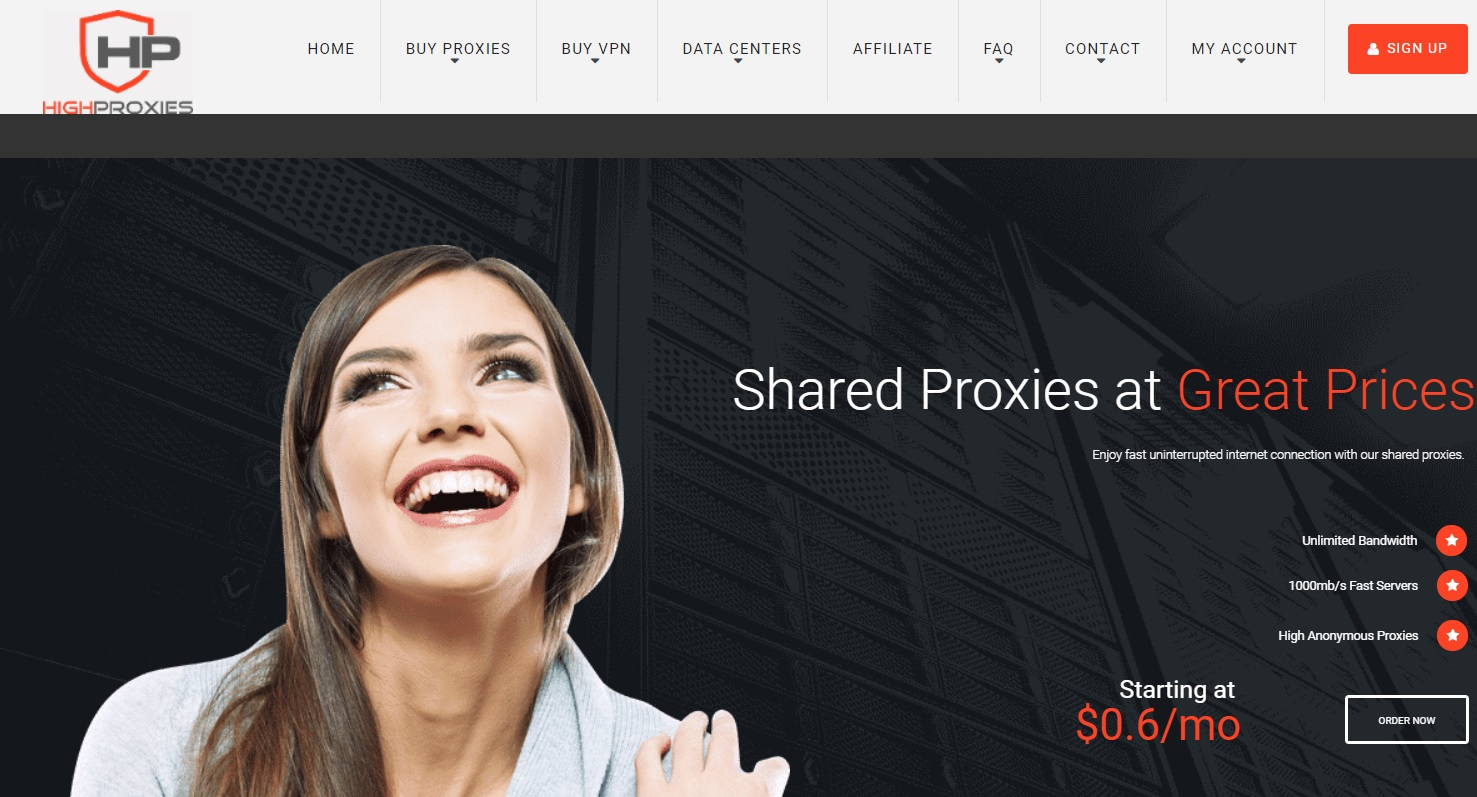 HighProxies Review: Legit Proxy Service in US, UK and Europe